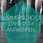 summerschool dans antwerpen