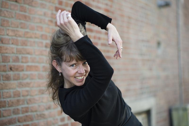Sanne van der Put bij dansimpuls van dansbelang