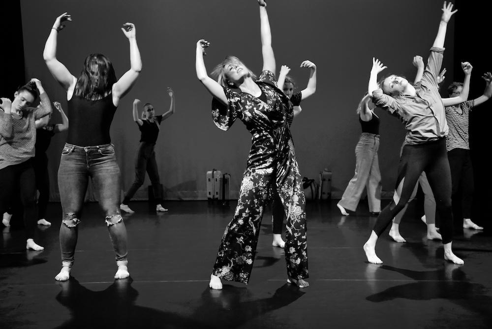 Workshop moderne dans en floor work - Marieke Muller-van der Naald